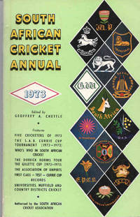 South African Cricket Annual 1973 (Volume 20)