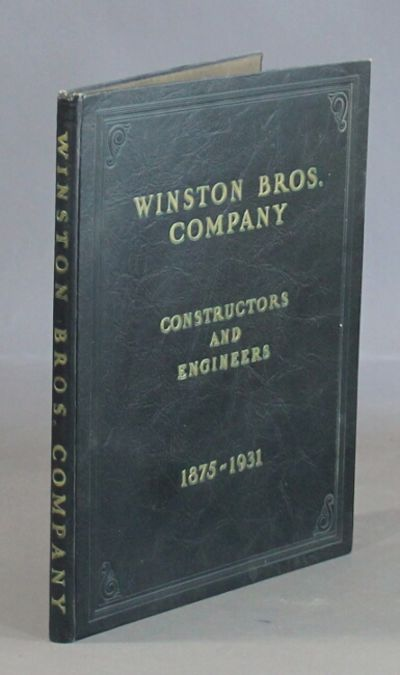 Minneapolis: Winston Bros. Co, 1931. Large 4to, pp. 119; extensively illustrated throughout showing ...