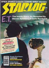 image of A Vintage Issue of Starlog Magazine for October 1982