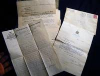 1913 - 1914 Archive of Manuscript Documents Regarding the Founding of the NY State School of Agriculture on Long Island (Farmingdale) & the Appointment of Trustee Edward H.L. Smith of Smithtown to the Board
