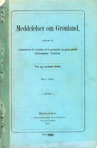 Meddelelser om Gronland Vol. 33 by VARIOUS - Paperback - 1907 - from Attic Books and Biblio.com