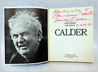 CALDER  AN AUTOBIOGRAPHY WITH PICTURES by  Alexander Calder - 1966 - from William Reese Company - Literature ABAA-ILAB and Biblio.com