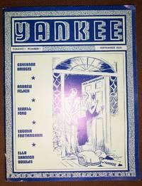 Yankee Volume 1 Number 1 September 1935 Reprint