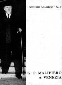 G.F. Malipiero a Venezia