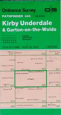 Pathfinder map sheet 666: Kirby Underdale & Garton-on-the-Wolds