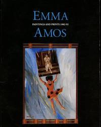 Emma Amos: Paintings and prints 1982-92 (Exhibition Catalog) by Amos, Emma; bell hooks; Valerie J. Mercer, & Valerie J. Mercer - 1993