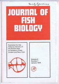 Journal of Fish Biology. Volume 6, Number 1, January 1974