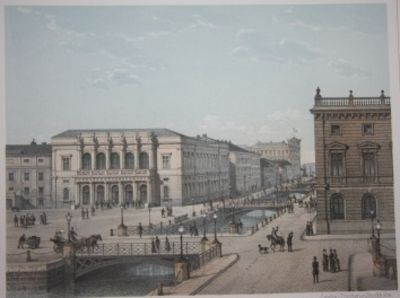 Stockholm, 1884. Portfolio, cloth. . Near Fine. Folio, 42 by 30 cm. 20 chromolithographic plates on ...