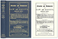 The Grounds and Rudiments of Law and Equity Alphabetically Digested.. by Gentleman of the Middle Temple - Hardcover - 2009 - from The Lawbook Exchange Ltd (SKU: 72515)