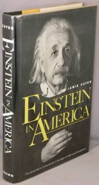 image of Einstein in America; The Scientist's Conscience in the Age of Hitler and Hiroshima.
