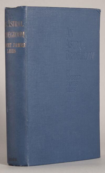 London: William Rider and Son Ltd, 1910. Octavo, pp. 5-408, original blue cloth, front panel stamped...