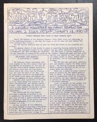 image of Gentle Strength: a weekly newsletter of nonviolent revolution; Vol. 2 No. 2 (Jan. 28, 1970)