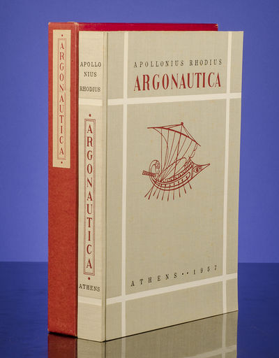Athens: printed for... The Limited Editions Club by Aspioti-Elka Graphic Arts Company, 1957. Jason a...