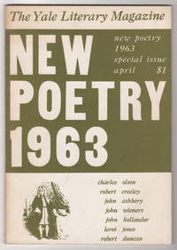 Yale Literary Magazine, Volume CXXXI, Numbers 3 and 4 (Volume 131, April 1963) - New Poetry 1963 issue