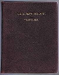 B.M.K. News Bulletin Volume 3 1948