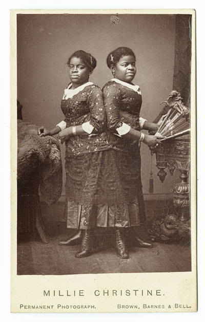 : Brown, Barnes & Bell, 1882. Carte de visite photograph on printed card mount, 4 x 2 1/2 inches. Mi...