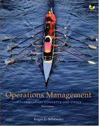 image of Operations Management: Contemporary Concepts and Cases with Student CD-ROM
