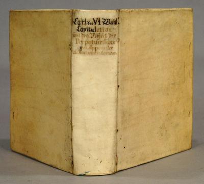 1713. . GEGENWARTIGE VERFASSUNG DER KAESERLICHEN REGIERUNG IN DEUTSCHLAND mit solche ennthalten in I...