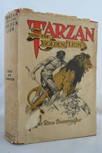 image of TARZAN AND THE GOLDEN LION  (DJ Protected by a Brand New, Clear, Acid-Free  Mylar Cover)