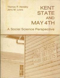 image of KENT STATE AND MAY 4TH, A Social Science Perspective.