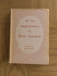 Of No Importance