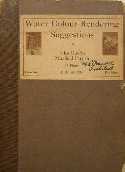 Cleveland: J. H. Jansen, 1917. First edition. Loose Sheets. Very Good +. 8vo. Book consists of a tit...