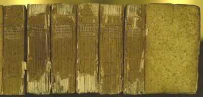 Paris: J P Costard, 1772 6 volumes: viii+485 pages; 500 pages; 501 pages; 479 pages; viii+456 pages;...