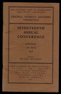 image of Central Women's Advisory Committee Seventeenth Annual Conference Programme of Proceedings