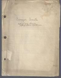 Eleazer Smith: A Biographical Sketch (1755-1836) Inventor
