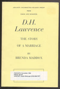 D.H. Lawrence: The Story of a Marriage