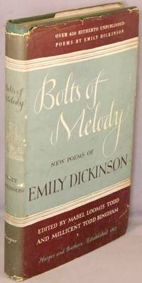 image of Bolts of Memory; New Poems of Emily Dickinson.