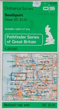 Pathfinder map sheet 698: Southport