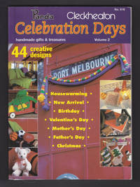 Panda Cleckheaton - Celebration Days - Handmade Gifts and Treasures, Volume 2, No 616 , 44 Pattern