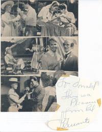 Inscription and Signature / Unsigned Film Program