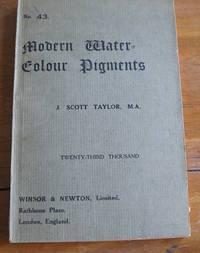 A Descriptive Handbook Of Modern Water-Colour Pigments