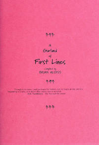 A Garland of First Lines