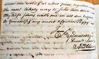 image of Autograph Letter Signed July 13, 1738