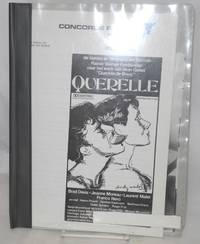 """Querelle: de laatste en belangrijkste film van Ranier Werner Fassbinder naar het wek van Jean Genet """"Querelle de Brest"""" [publicity packet and photos]"""