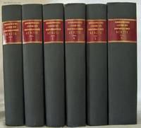 BIOGRAPHISCHES LEXICON DER HERVORRAGENDEN AERZTE ALLER ZEITEN UND VOLKER  (1884 - 1888) SIX VOLUMES