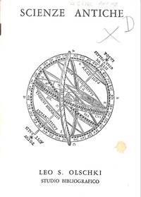 Catalogue 169/n.d. : Science Antiche.