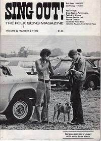 """""""SING OUT! THE FOLK SONG MAGAZINE"""", Volume 22, Number 2,  March/ April, 1973  [with recording]"""
