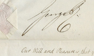 31/12/1820. George IV It also permits the free city of Frankfort to join the European community esta...