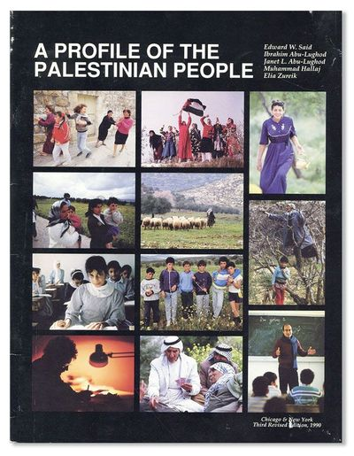 Chicago & New York: Palestine Human Rights Campaign, 1990. Quarto (28cm). Photo-pictorial stapled ca...