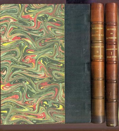 Paris: Editions Albin Michel, 1957. Hardcover (Half Leather). Very Good +. 2 volumes, tall 8vo, boun...