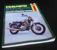 Triumph 650 and 750 2 Valve Unit Twins Owner's Workshop Manual
