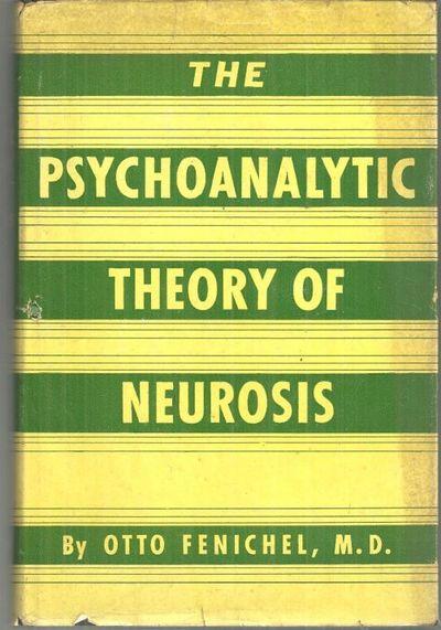 PSYCHOANALYTIC THEORY OF NEUROSIS, Fenichel, Otto