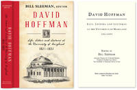 David Hoffman: Life Letters and Lectures at the University of Maryland