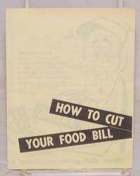 How to cut your food bill