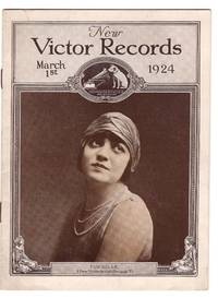 Victor Talking Machine Company, New Victor Records 1924 Catalog