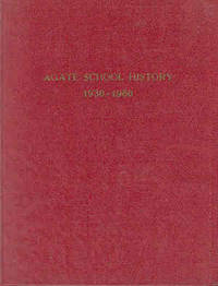 Agate School History 1930-1960